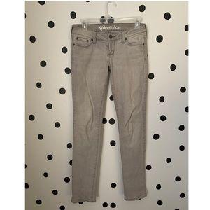 🔥30%OFF🔥Bullhead Venice skinny grey jeans size 1